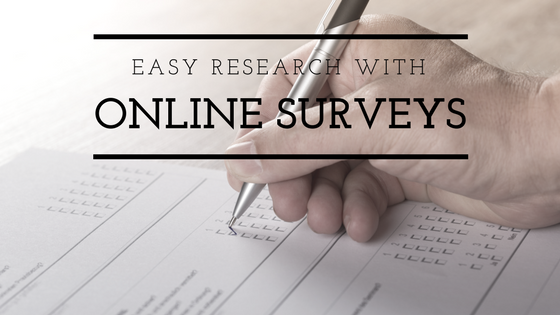 Easy Research with Online Surveys