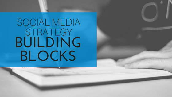 social media strategy building blocks