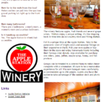 Cayuga County Group Tour Newsletter- Apple Station