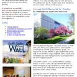 Cayuga County Group Tour Newsletter- Arts and Culture