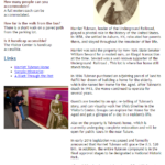 Cayuga County Group Tour Newsletter- Harriet Tubman