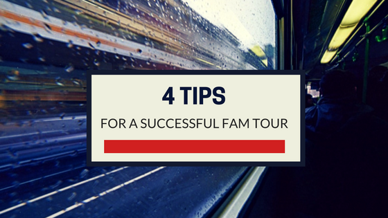 4 tips for a successful FAM tour