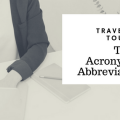 Travel and Tourism Terms, Acronyms & Abbreviations