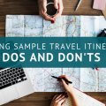 creating sample travel itineraries