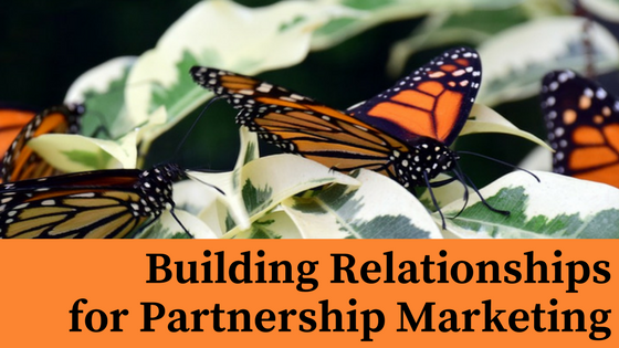 building relationships for partnership marketing