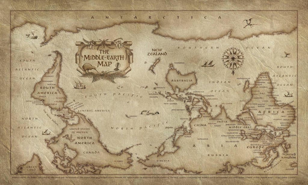 Bored Of The Rings Map on the hobbit map, the lord of the rings map, the silmarillion map,
