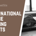 Image with text: the benefits of international online booking agents