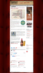 "image of an article ""Beer Buzz"" in American Craft Beer"
