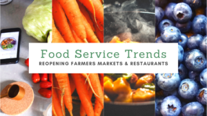 Food Service Trends: Reopening Farmers Markets and Restaurants
