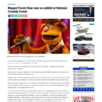 430,000 UVM - YourErie - Muppet Fozzie Bear now on exhibit at National Comedy Center