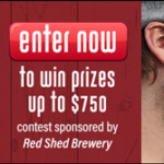Red Shed Brewing where do you beer banner 2