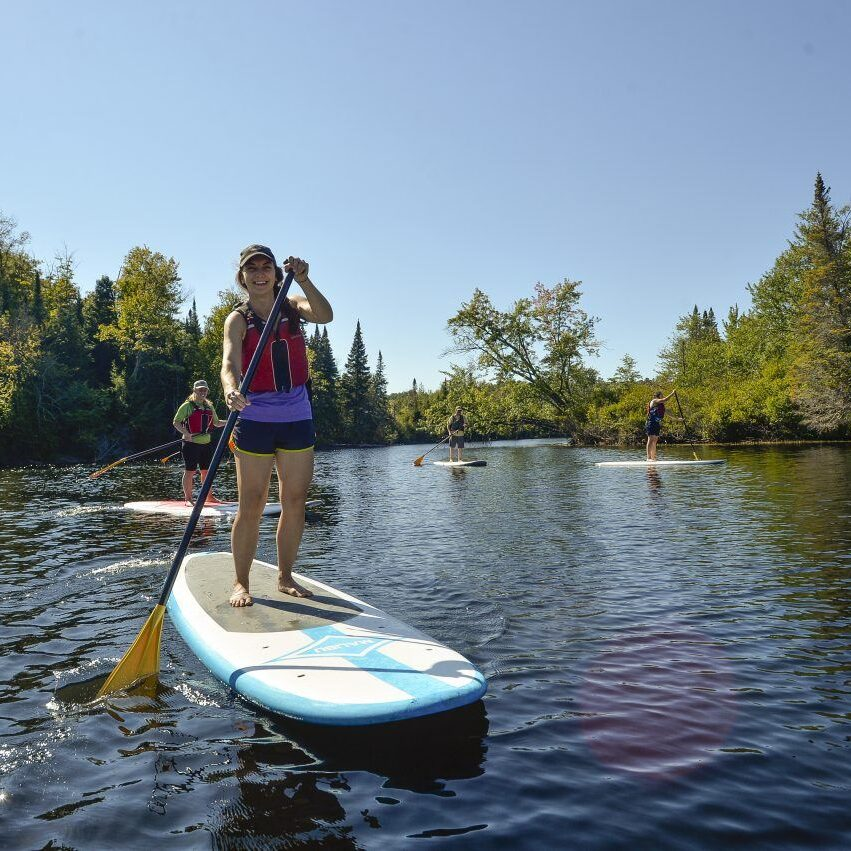 Stand Up Paddleboard at The Wild Center